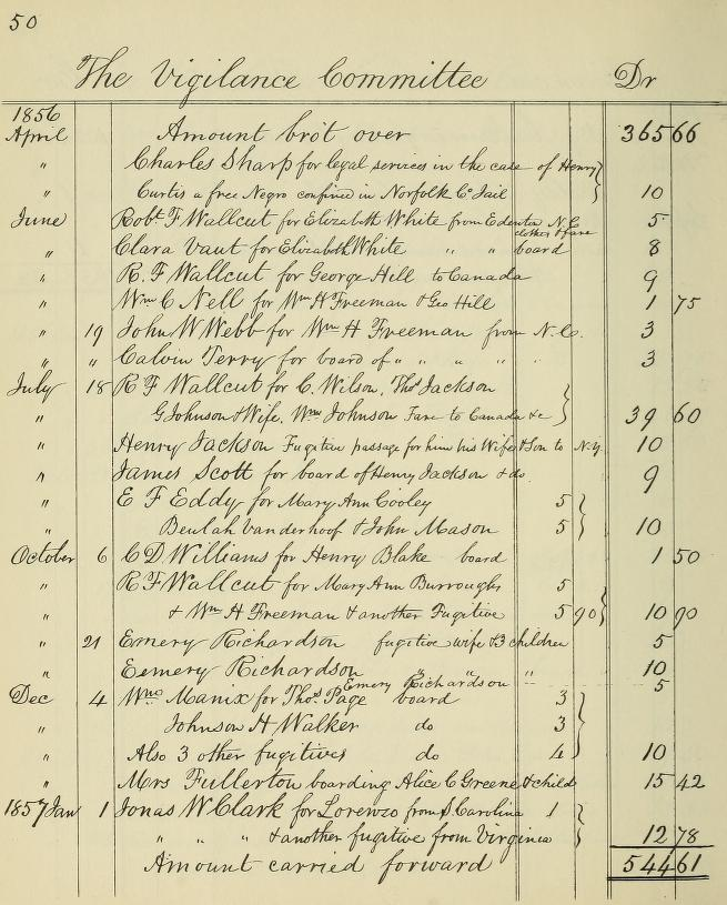 Boston Vigilance Committee Records