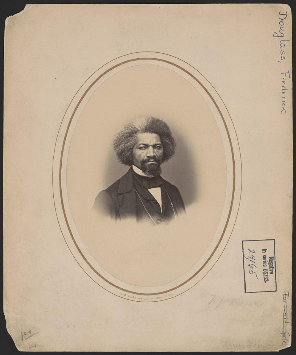 Portrait of Frederick Douglass, 1862